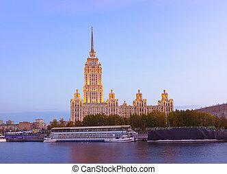 Hotel Ukraine (Radisson Royal) - Moscow Russia - Hotel...