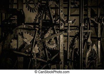 Some kind of vintage mechanism