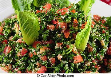 Tabbouleh - Vegetarian salad from the middle east.