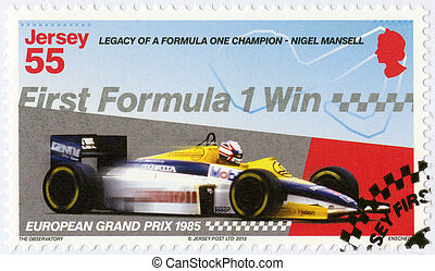 JERSEY - 2013: dedicated Nigel Mansell, First Formula One...