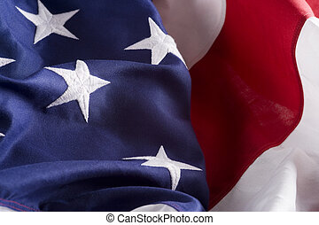 American Flag Background - A background consisting of and...