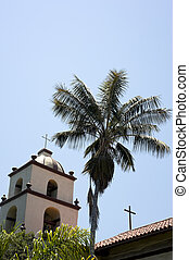 San Buena Ventura Mission - A the San Buena Ventura Mission...