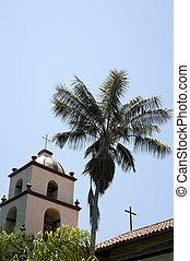 San Buena Ventura Mission - A the San Buena Ventura Mission...