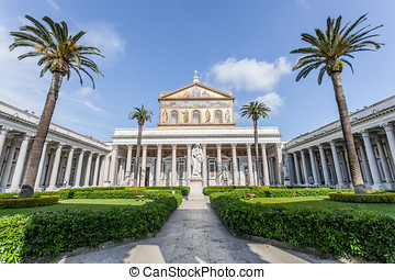 Basilica of St. Paul Outside the Walls, Rome Italy
