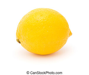 Lemon isolated object