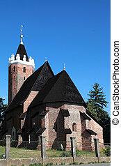Roman Catholic Church in Csenger, Hungary