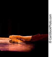 pés, balé