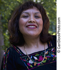 Hispanic Middle Aged Woman - An attractive middle aged...
