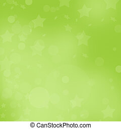 Empty green christmas background or illustration with stars....