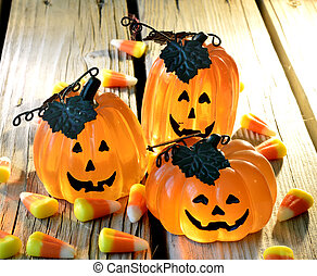 Halloween - Decorations for Halloween scary beautiful in the...