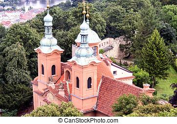 Prague Church of St. Laurence on Petrin