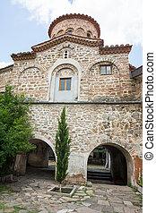 The temple complex Bachkovski monas - Bachkovo Monastery -...