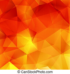 Abstract Autumn geometric shapes plus EPS10 - Abstract...
