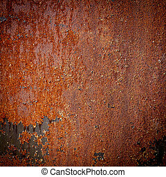 Dark rough metal background