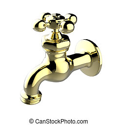 faucet - The objects made at 3d