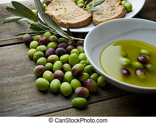 olive oil - olve oil still life