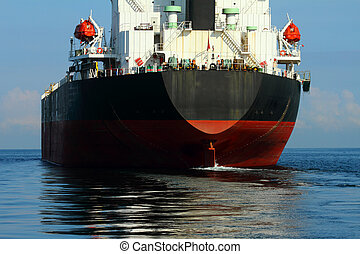 Vessel cargo import and export are working in the gulf of...