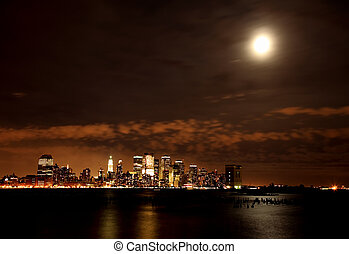 The Lower-Manhattan Skyline - The Lower Manhattan Skyline...