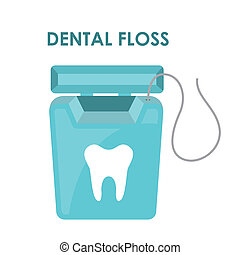 dental design over white background vector illustration