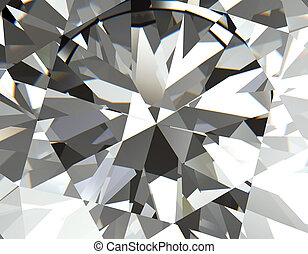 Background of jewelry gemstone Facet
