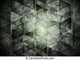 Dark grey geometry grunge background Vector design