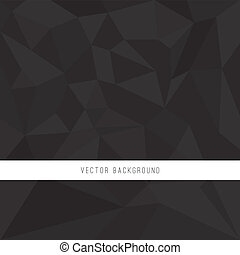 Abstract Polygon Background - Abstract polygon style vector...