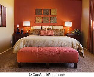 komfortabel, sovrum