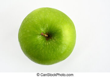 Apples - Rosh Hashanah Jewish holiday - Fresh green apple...