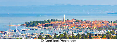 Izola town, Mediterranean, Slovenia, Europe - Izola is an...