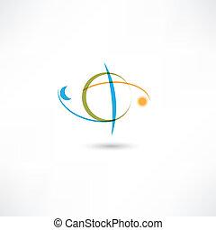 earth symbol color