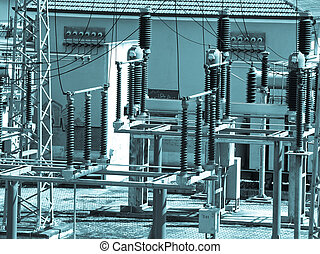Powerstation picture - Power station for electricity...