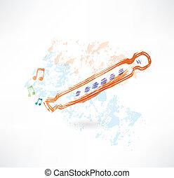 classique, flûte, grunge