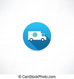 Big frost car icon