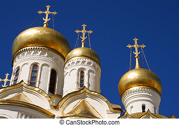 kremlin - The Cathedral of the Annunciation in Kremlin close...