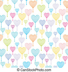 Vector peace pattern - Love and globe texture for travel and...