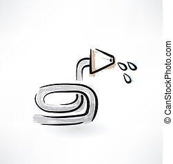 hose grunge icon