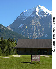 Mount Robson - landscape of Mount Robson visitor center