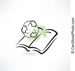 book recycle icon