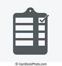 sheet data Icon