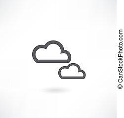 Cloud Icon. Vector