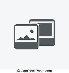 Vector photography icons.