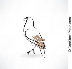 falcon grunge icon