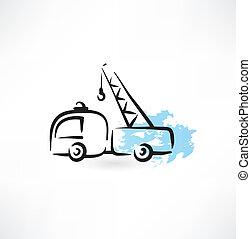 crane grunge icon
