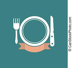 Eatery symbol