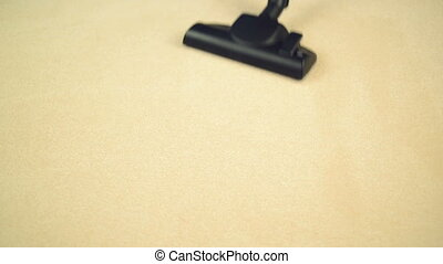 Vacuum Cleaning the Carpet