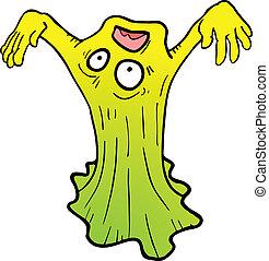 Gum monster - Creative design of gum monster