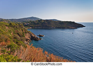Elba Island - The coast of Elba Island Tuscany, Italy