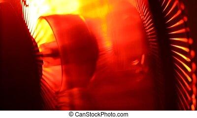 Industrial Fan - Close up of an electric Industrial Fan