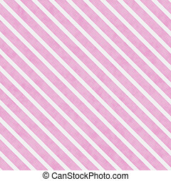 Pink and White Striped Pattern Repeat Background that is...