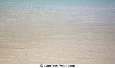 gorgeous crystal water beach, ocean, sea, Koh Rong, Cambodia